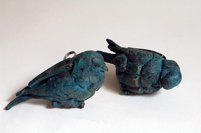 Grenade birds, bird grenade, maskull lasserre, canadian forces artist program, Afghanistan, grenade bird, bird bom