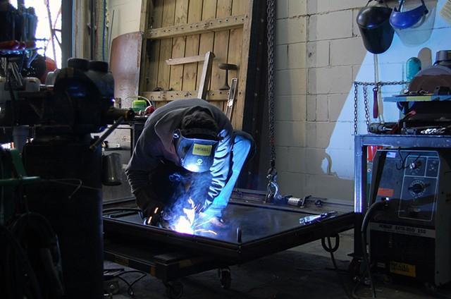 Grand Narrative (work in progress) welding