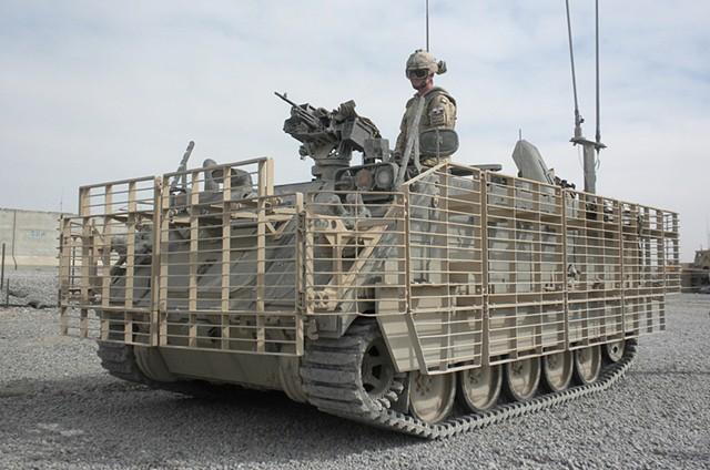 CF LAV, up-armoured, Kandahar province, Afghanistan