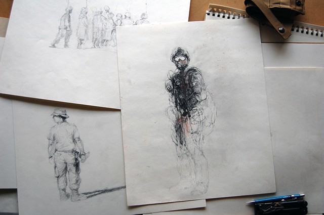 Afghanistan sketches