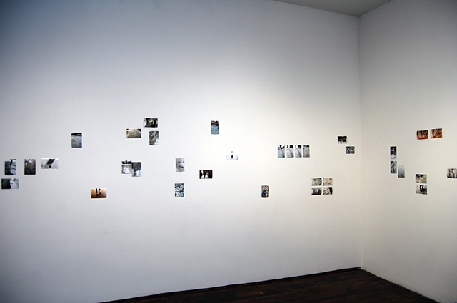Outliers (Photographs installed at Articule,  Montreal, Canada)