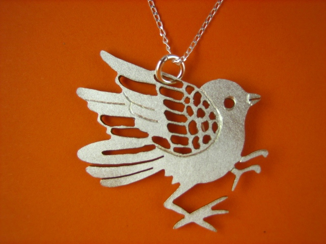 japanese Inspired jewelry jewellery bird sydney australia sterlin silver