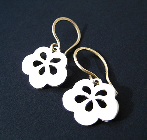 Jewelry jewelry earrings metal fruit blossoms etsymetal etsy sydney team sterling silver hand made kawaii wedding japanese sydney october