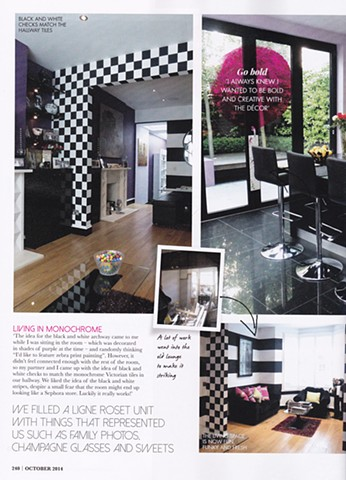 Through The Looking Glass, feature in At Home Magazine