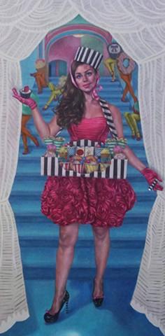 Usherette - Portrait of Kelly-Anne Lyons