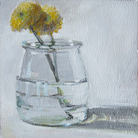 Study of Two Yellow Flowers #2