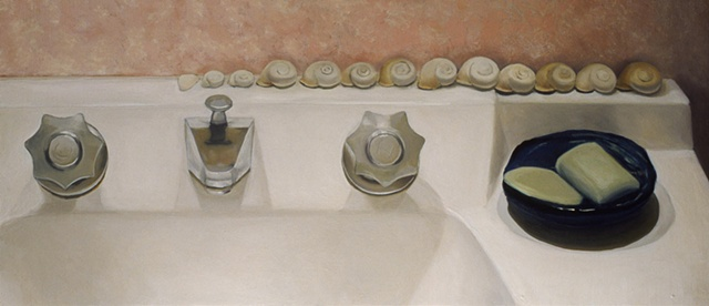 gabel karsten kokinda fine art oil painting sink