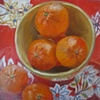 Oil Cloth and Mandarins