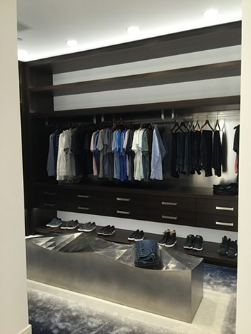 Custom His Closet
