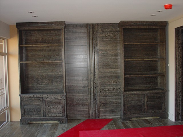Custom Master/Sitting Room Divider