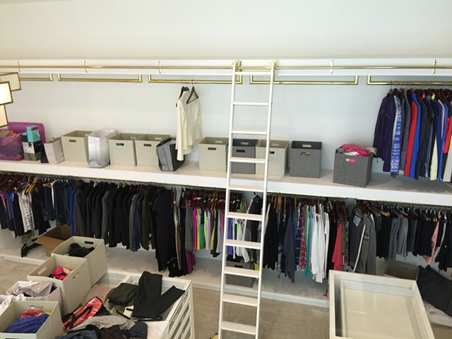 Custom Ladies Closet