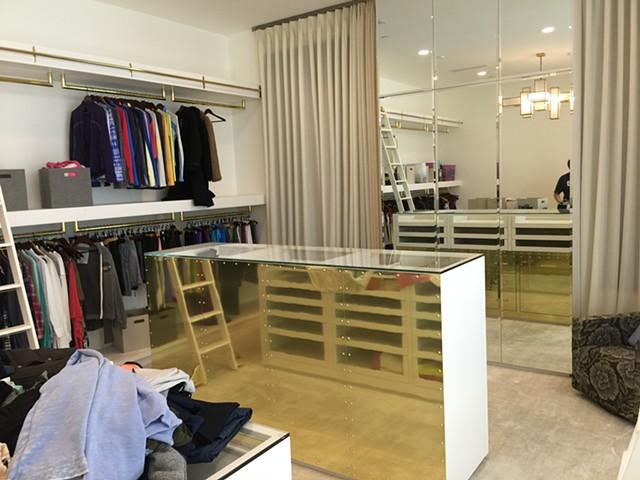 Custom Ladies Closet