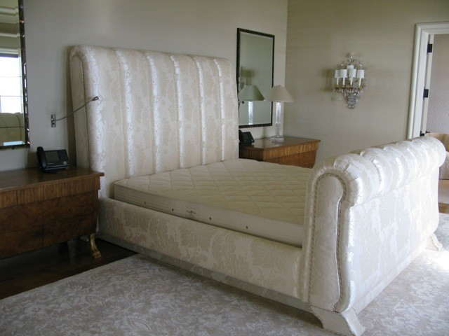 Custom King Size Bed with TV Lift
