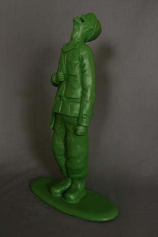 untitled (soldier piggy bank)