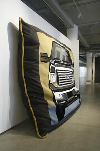 truck pillow