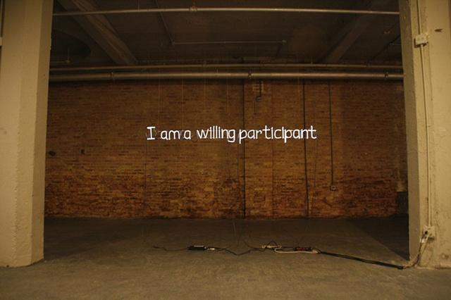 I am a willing participant