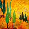 Yellow Italian Landscape