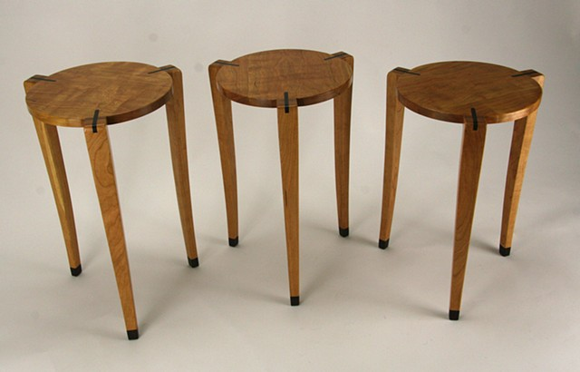 Cherry Stacking Tables