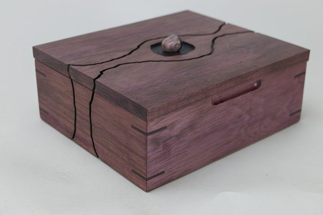 purpleheart , jewelry box