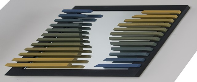 SCULPTURE, MIRROR, color modulation