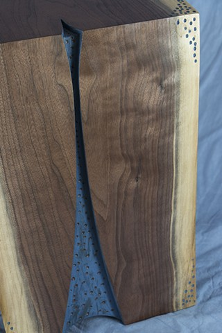 Walnut End Table Detail