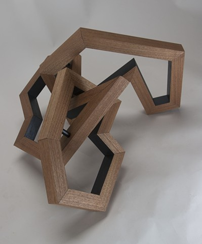 wood sculpture, abstract sculpture