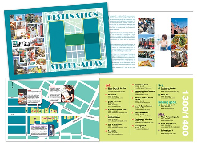 H Street Booklet Map - 2014
