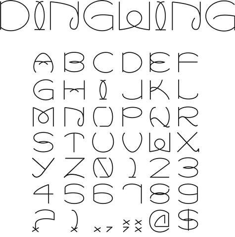 Dingwing Font