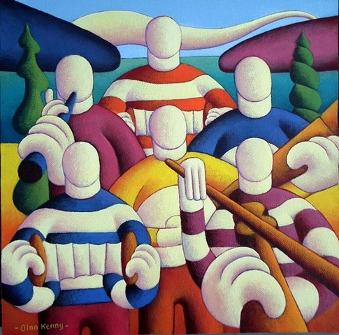 Six White Musicians