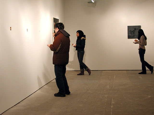 "Installation ""Interested Painting"" Gallery 400 Chicago, IL"