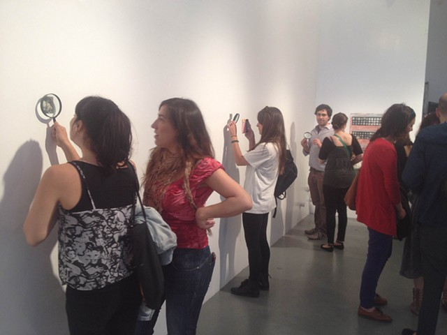 Opening at Harbor Gallery 2014