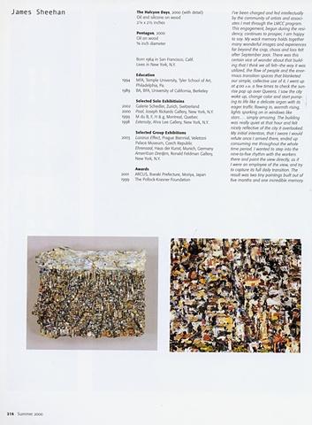Site Matters Publication on LMCC's World Trade Center Residency, New York 2004