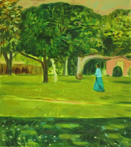 A Woman in the Park