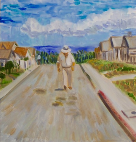 One Day in Mar Vista (portrait of Robert Altman)
