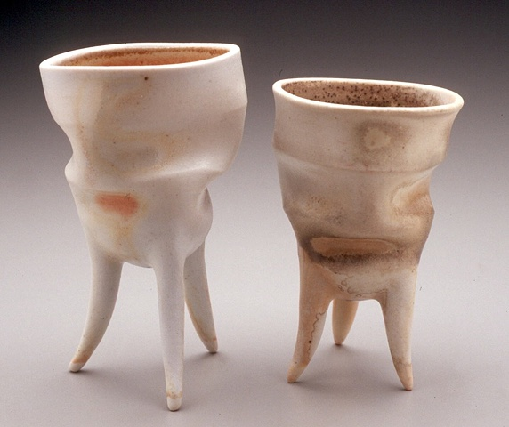 Wood Fired 3-Legged Cups