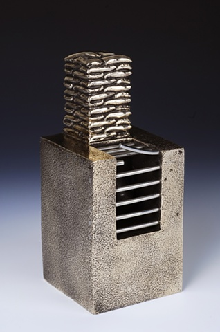 Drainage Stack Box - Bronze, Stainless Steel