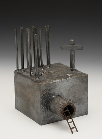 Stick Box w/ Drain - Bronze