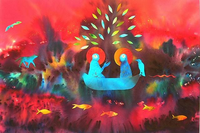 "from the ""Jesus & Buddha "" series"