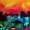 Rainforest Lullabye (sold)