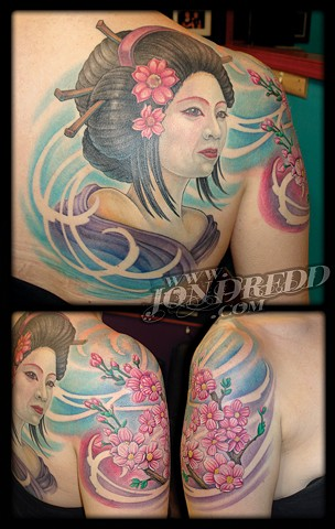 crucial tattoo studio salisbury maryland best tattoos jonathan kellogg jon dredd geisha flowers tattoo delaware ocean city