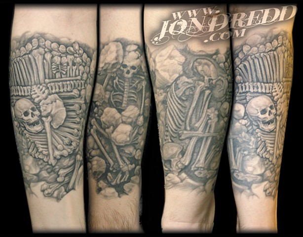 graves skulls bones crucial tattoo studio salisbury maryland delaware jon dredd kellogg best tattoos ocean city