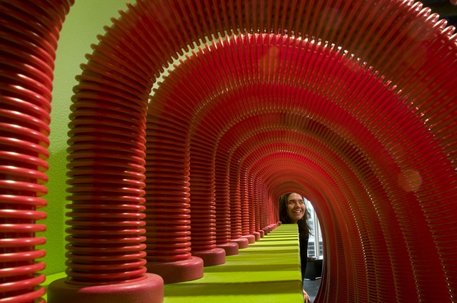 Sound Tubes: tunnel