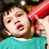 Sound Tubes: Listening boy