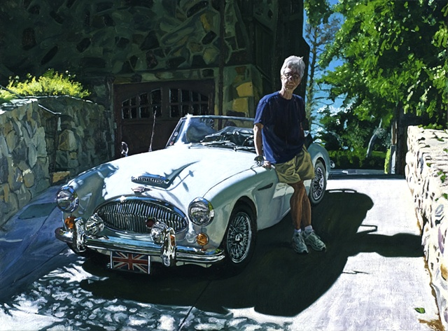 Roy and his '67 Austin Healy