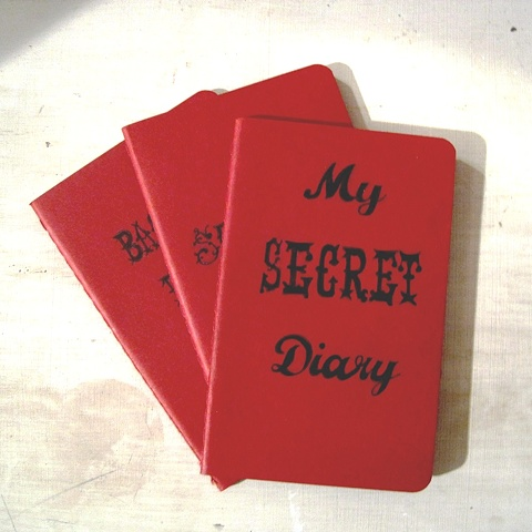 Order a personalised notebook this Christmas from Brighton artist Linda Boucher. A perfect secret santa gift for a work colleague or a stocking stuffer gift.
