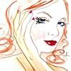 Scarlet  Sketch by Linda Boucher