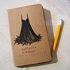Babydoll's Notebook Moleskine Notebook by Linda Boucher