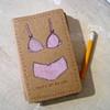 News in Briefs Moleskine Notebook by Linda Boucher