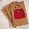 My Other Bag is a Birkin Large Moleskine Journal by Linda Boucher