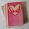 Red Shoes  Moleskine Notebook by Linda Boucher
